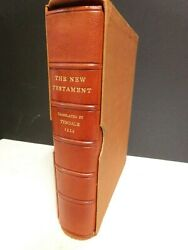 1534 N T Bible By William Tyndale- Limited Ed 1939 Cambridge- Copy No 48