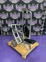 Life Fitness Pro Series Seated Row W/multi Grip Swivel - Buyer Pays Shipping