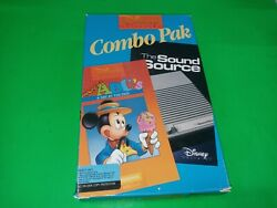 Vintage Disney Micky's Abc's A Day At The Fair Ms - Dos Pc - B747