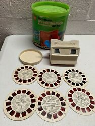 Vtg View-master Gift Pak - Winnie The Pooh And His Friends Disney Viewer And Reels