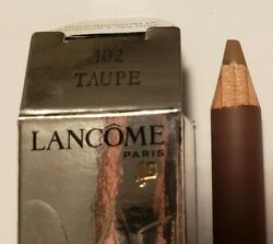 Lancandocircme Authentic Le Crayon Brow Expert Powder Pencil For The Brows Taupe 102
