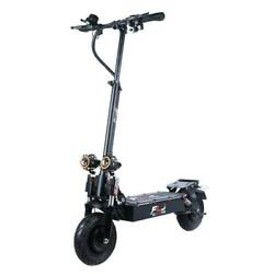 Flj 10inch Dual Motor 52v 2400w Electric Scooter 2 Strong Power Engine 120kms