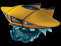 Voyage To The Bottom Of The Sea 132 Diecast Flying Sub Limited 500 Only