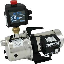 Electronic Water Pump Zehnder Epd 15-3-zp With Pressure Switch Control Adpro
