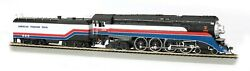 Ho-gauge - Bachmann - American Freedom Train 4-8-4 And Tender 4449 Dcc Sound