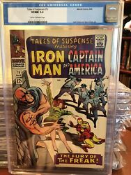 Tales Of Suspense 75 Cgc 9.0 1st Sharon Carter And Peggy Carter Older Grade Lable