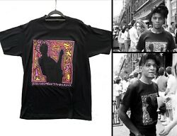 Stephen Sprouse T-shirt Jean-michel Basquiat From Keith Haringand039s Pop Shop 1986