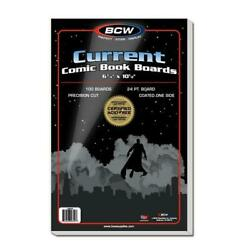 500 Bcw Current Thick Comic Book Bags And Boards