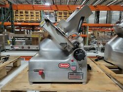 Berkel 919 Commercial Automatic Or Manual Meat And Cheese Slicer