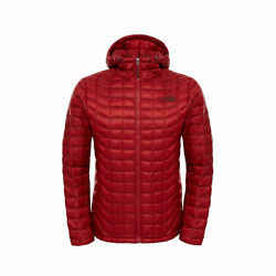 The Menand039s Thermoball Eco Hoodie Down Jacket Cardinal Red Authentic