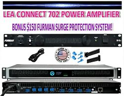 Lea Amplifier Connect 702 702d 704 704d Made By Crown Amplifier Guys. Choose