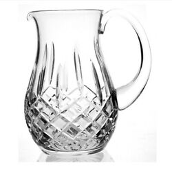Euc Waterford Crystal Lismore 8andrdquo Pitcher 64 Oz. - No Box - Free Shipping