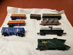 N Scale - Mixed Freight/mow - 8 Cars Lot F4