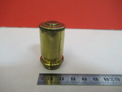 Antique Brass Watson Uk 1860s Objective Microscope Part As Pictured Andf6-b-12