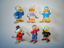 Disney Donald Duck And Family Figurines Set 2 Nestle - Figures Collectibles