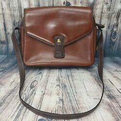 Mark Cross Bags Vintage Brown Leather Handbag Soft Leather Made In Italy EUC $139.99