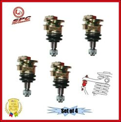 Spc Front And Rear Adjustable Camber Ball Joint Set Of 4 For 00-09 Honda S2000
