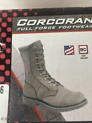 Corcoran Military Combat Boots 87146 Sage 10 Full Force Marauder Green Size 8 D