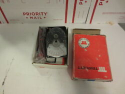 Y1 Triplett/ibm 310 Analog Multimeter W/orig Box Instr. And Cables Appears New