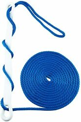 3/8 Inch 20feet Mfp Solid Braid Anchor Line Dock Line Mooring Rope With Snubber