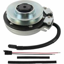 Pto Clutch Replacement For Warner 5218-10 Husqvarna 539128711 W/ Wire Repair Kit