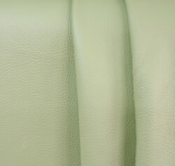 Leather Nappa Leather Whole Skins Pastel Green Bright Various Sizes