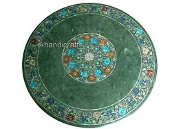 Marble Dining Table Top With Inlay Work Living Room Table Home Assents 42 Inches