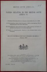 1899 British South Africa Co. ⚜ Charter Military Police Forces Rhodesia Scarce