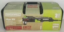 Rockwell F80 Sonicrafter 12 Pc Oscillating Tool Kit Rk5151k