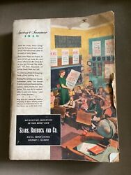 1949 Sears Roebuck And Company Spring And Summer Catalog Chicago Illinois