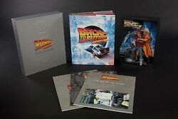 Back To The Future Sculpted Movie Poster + Ultimate Visual History Collectorbook