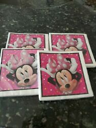 Minnie Mouse Birthday Party Napkins 16ct Pretty Pink Lot 4