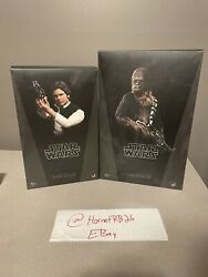 Hot Toys Han Solo And Chewbacca Star Wars Action Figure