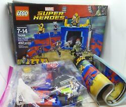 Lego Super Heroes Thor Vs Hulk Arena Clash 76088 Complete Box Minifigs Booklet