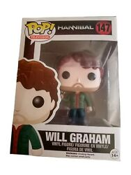Funko Pop Television Hannibal Lecter Will Graham With Gun 147 New