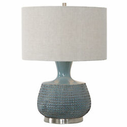Uttermost Hearst Jim Parsons Ceramic And Iron Table Lamp 27925-1
