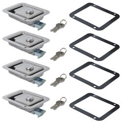4x Marine Stainless Steel Paddle Latch Truck Trailer
