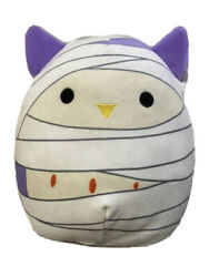 Squishmallow 2021 Halloween 8 Holly The Mummy Owl Plush Doll Toy