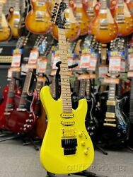 Used Fender Mij Limited Edition Hm Strat -frozen Yellow- 2020 Free Shipping