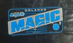 Maillot Jersey Basketball Vintage License Plate Plaque Orlando Magic Nba Oneal