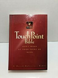 The Touchpoint Bible1996 Hardcover New Living Translation. Guideposts