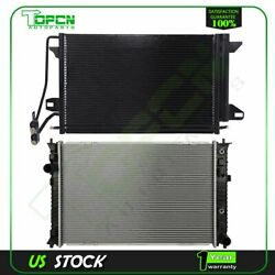 Fits Ford Fusion Lincoln Zephyr Mercury Milan Replacement Radiator And Condenser