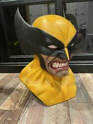 Custom Wolverine Bust Paired Life Size 11 Statue Classic X Men Statue