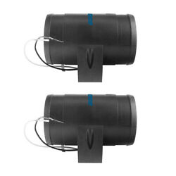 2 Pieces Bilge Blower For Boat / Line Extractor With Fan For Window Bath / Light