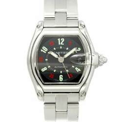 Roadster Lm W62002v3 Date Automatic Black Red Dial Mens Watch 90130498