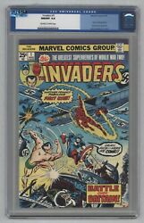 Invaders 1 Multiple 1st Villain Apps 1st Series 1975 Qes Certified Slab Cgc 9.8