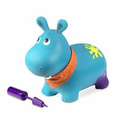 B. Toys Hanky The Hippo Inflatable Ride-on Bouncer Bouncy Boing Soft Riding