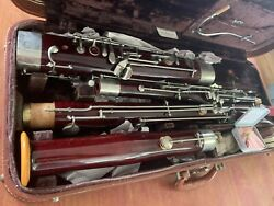 Vintage Maple Schreiber Bassoon Good Playing Condition Professionally Serviced