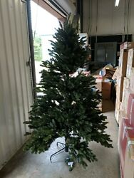 Open Box Balsam Hill Fraser Fir 6.5' Tree Unlit With Simple String Easy Plug