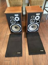 Pioneer Hpm-100 Vintage Speakers Used Sound Great Sold As-is Due To Size